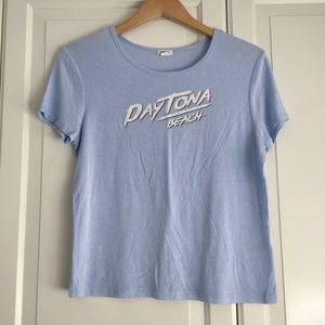 Garage Blue Graphic Tee